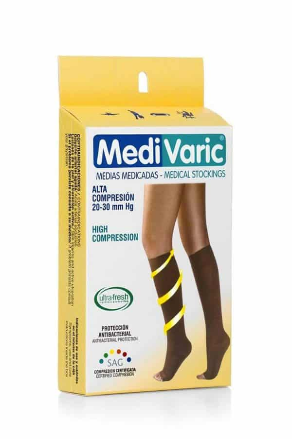 Medivaric-High-Compression-Knee-High-Stockings-1233-Box-Web