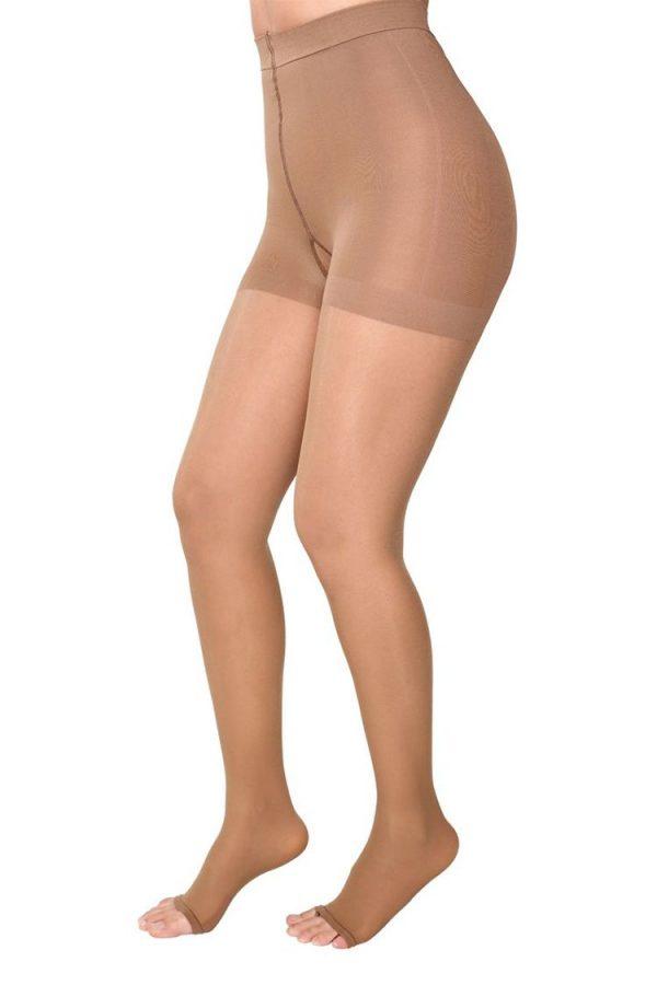 Medivaric-High-Compression-Pantyhose-Stockings-1231-Beige-Side-Web