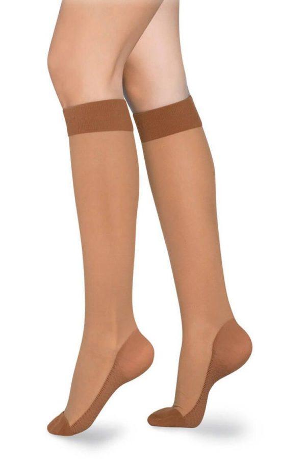 Medivaric-Low-Compression-Knee-High-Stocking-1113-Beige-Side-Web