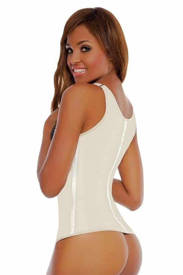 Wonderfit-Adjustable-Strap-Latex-Vest-0274-Beige-Side-Web