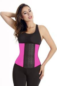 Wonderfit-Color-Latex-Waist-Trainer-0444-Fucsia-Web