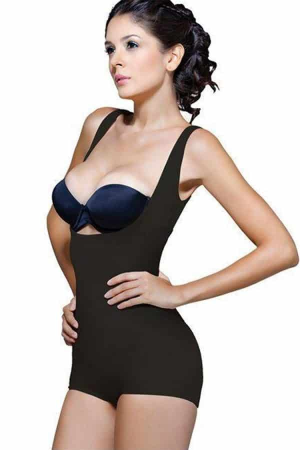 Wonderfit-High-Back-Underbust-Body-Shaper-138-Black-Front-Web