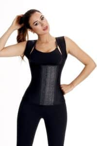 Wonderfit-Latex-Vest-0450-Black-Front-Web