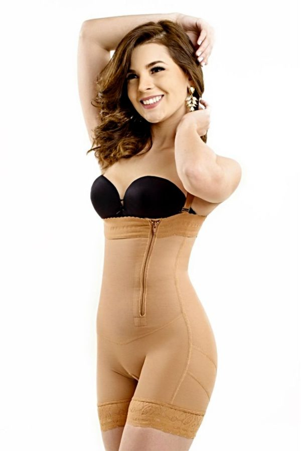 Wonderfit-Zipper-On-The-Side-Copper-Shaper-#0462-Front-Web