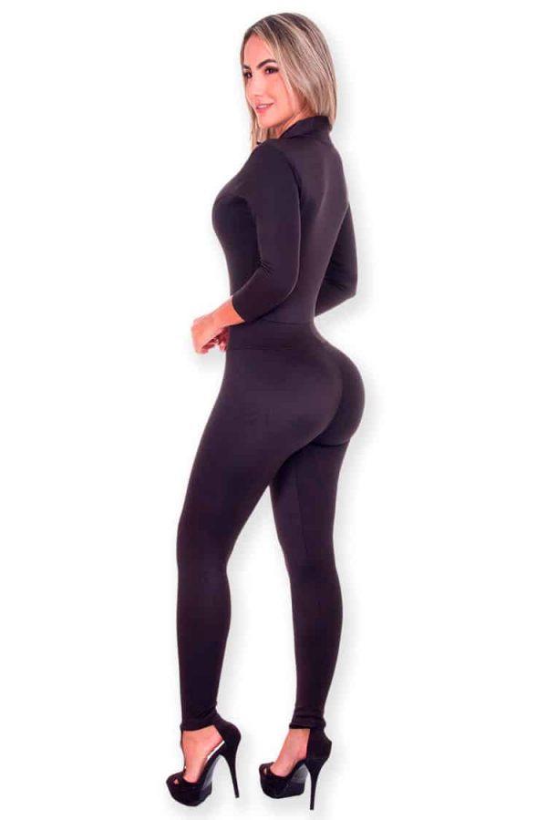 Jumpsuit-Wonderfit-887-Black-Back