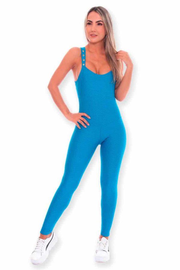 Workout-Jumpsuits-Wonderfit-789-Blue-Front