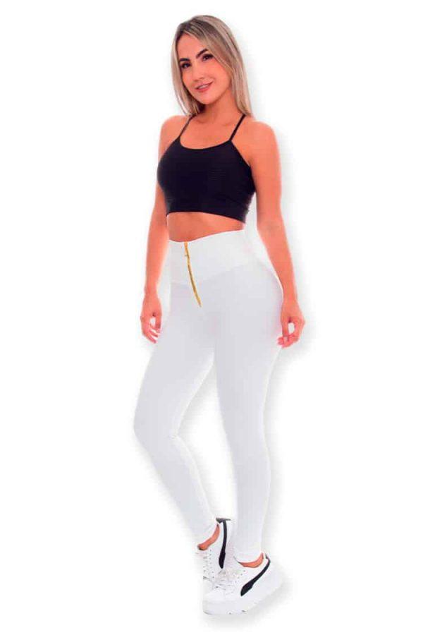Workout-Leggings-by-Wonderfit-707-White-Front