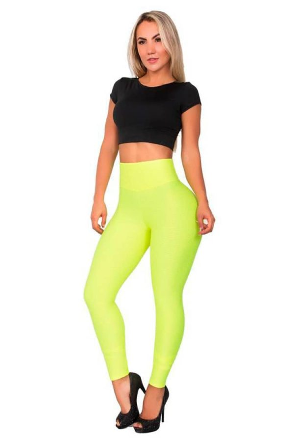 Set-of-Lycra-T-shirt-with-back-eyelets-Green-Front