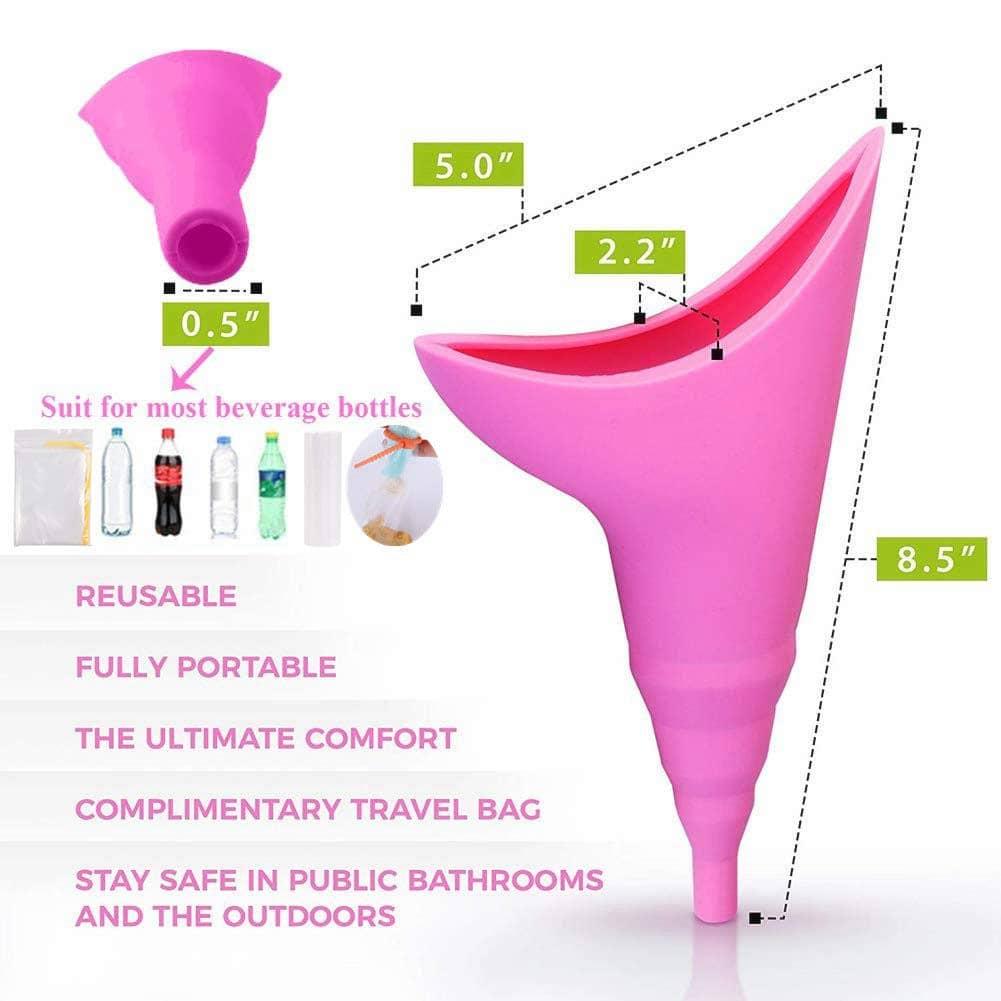 Wonder-Pee Female Urinal Device 17